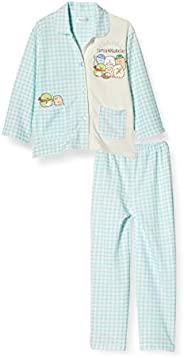 [角落生物] 睡衣套装 角落生物 睡衣 儿童 长袖 76110RH 翡翠绿 130cm