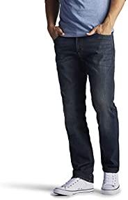 Lee 男式 现代系列极限运动修身直筒小裤脚牛仔裤, Maverick 38W x 32L