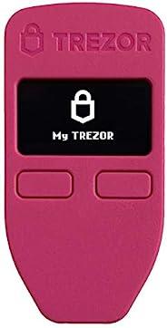 Trezor One - 加密硬件钱包 - 比特币、以太坊、ERC20 等*值得信赖的冷存储器(粉色) - 仅在亚马逊限量版