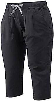 [Mizuno 美津浓] 训练服 Move系列 3/4 裤子 吸汗速干 弹力 UPF5+ 苗条 32MD9331