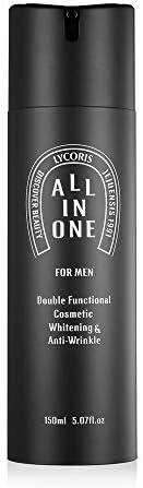 Lycoris 男士 All In One Essence - K Beauty 男士精华、爽肤水和乳液 - 男士面部护理