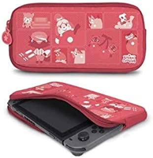 Controller Gear 保护性便携式氯丁橡胶旅行便携包,与Nintendo Switch和Switch Lite兼容-动物穿越-lt缝色调-Nintendo Switch
