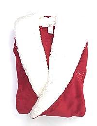 维多利亚的秘密舒适连帽短袍,充满活力的红色 - XS/S