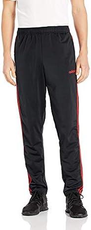 adidas 阿迪达斯 Essentials 男式三道杠锥形针织长裤