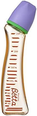 Bétta 蓓特 蓓特博士嬰兒奶瓶 寶石 S1-240ml(橙色)