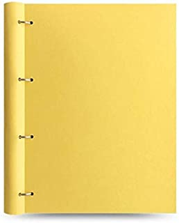 Filofax A4 Clipbook 柠檬色