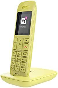 TELEKOM 无绳电话 DECT 手柄适用于 CAT-iq a/b 端口和 TAE 适用于所有带 CAT-iq 的 Speedport40312460 Speedphone 11 gelb mit Basis und AB