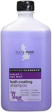 Everyday Isle of Dogs 奢华涂层狗狗洗发水,紫罗兰+海雾,16.9 盎司