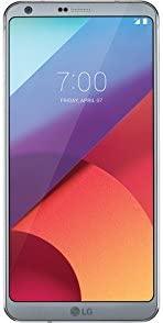 LG G6 H872 32GB T-Mobile 无锁安卓手机,带双 13MP 相机 - 冰铂金