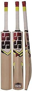 SS Kashmir Willow 皮革球板球棒,成人*板球棒,全尺寸,带全保护盖