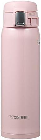 ZOJIRUSHI 象印 SM-SA48PB 不锈钢真空保温杯 16盎司(约453.6克) 珍珠粉色