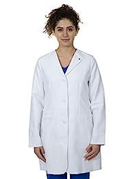 healing hand 白色外套系列女士 5102 英寸法拉实验室大衣