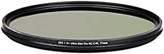 JJC 77 mm f-wcpl77 S + 超薄 MC CPL 滤镜 - 黑色