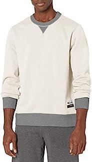 Champion 男士Authentic Originals 绒面休闲针织衫套头衫