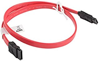 lanberg CA - SASA-10CU-0050-R Sata Data 插头 III (7 极) 数据线 50 厘米 红色