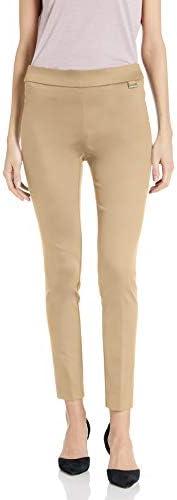 Calvin Klein 女士七分松紧带裤