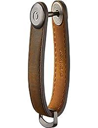 Orbitkey:定制钥匙扣 - 疯马皮革 橡木棕色 小号 9348824001447