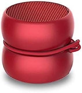 超紧凑的迷你蓝牙音箱 红色 - Xoopar Yoyo扬声器 - 功能强大的3瓦扬声器 - Nomadic 扬声器 4小时自动机功能 - 小型扬声器,3厘米