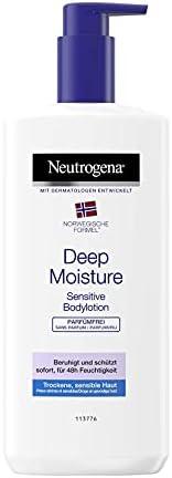 Neutrogena 露得清 挪威*身体乳,深层保湿敏感,不含香料,适用于敏感干性皮肤,400 毫升