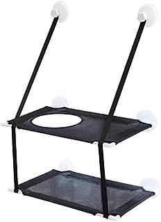 带吸盘的猫吊床,夏季宠物窝透气可拆卸猫窝悬挂窗台猫挂床宠物吊床