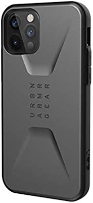 URBAN ARMOR GEAR iPhone 12/12 Pro(6.1) 2020对应耐冲击壳 CIVILIAN 银色 【日本正规代理店商品】 UAG-IPH20MC-SV