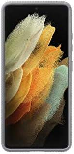 Samsung 三星 保护立式保护套 EF-RG998 适用于 Galaxy S21 Ultra 5G,浅灰色