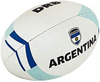 DRB DRIBBLING 橄榄球 – 官方尺寸 5 适合练习和比赛 – 手工缝制 – 标准胶粘手柄 – 乡村旗帜