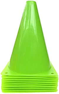 WOWGEEK 7.5 英寸塑料运动训练交通锥 10 交通*锥标志 运动足球训练锥