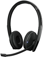 EPOS   Sennheiser 森海塞爾 Adapt 261 (1000897) 雙面耳機,無線,雙連接藍牙,USB-C 加密狗,UC 優化和 Microsoft 團隊認證,黑色