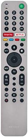 RMF-TX611U 语音遥控替换件 适用于索尼 XBR85X90CH XBR-85X90CH XBR85X950G XBR-85X950G KD85XH9505 KD-85XH9505 KD85ZH8 KD-85ZH8