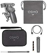DJI 大疆創新 Osmo Mobile 3 Combo 3軸智能手機云臺手持穩定器,可以拍攝Vlog,Youtube博主直播視頻,適用于iPhone和Android