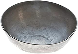 PIA 道具 铁碗(大)杂色用(印度制造)直径21厘米 Owl(大)×1