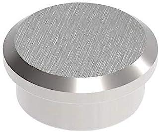 Maul 钕力磁铁,圆形,实心钢,8千克粘合力,22 x 9毫米,浅银色,1件