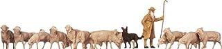 Faller 154001 Sheep w/Shepard & Dog HO Scale Figure Set