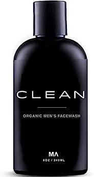 Minamul 男士有机面部清洁 - 去角质泡沫磨砂膏 - 日常深层洁面乳 - 适合油脂、干燥、混合或敏感肌肤类型 - 轻盈香味,* 8盎司
