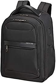 Samsonite 新秀丽 男士 Vectura Evo – 笔记本电脑背包 黑色(黑色) Laptoprucksack 15.6 Zoll (44.5 cm - 22 L)