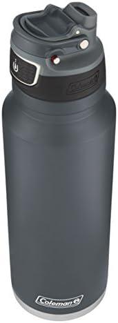 coleman freeflow 汽车水瓶 40oz 冷蓝色 不锈钢