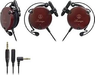 Audio-Technica ATH-EW9 耳钉耳机耳夹耳机 - 黑色,红色(耳饰耳机,EAR-CLIP,14 - 22000 Hz;105 dB;29 Ω,2.8 厘米)