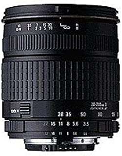 Sigma 28-200 f/3.5-5.6 紧凑型超焦异球形镜头,适用于 Sigma SLR 照相机