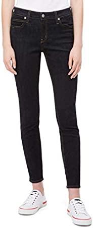 Calvin Klein 女士中腰緊身牛仔褲