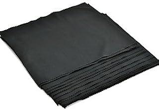 Cosmos 15 件(7 x 8 英寸) 黑色超软超细纤维镜头/清洁布,适用于电视/LCD屏幕/相机/镜头和眼镜+Cosmos LCD 布