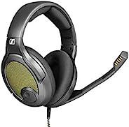 Drop + Sennheiser 森海塞尔 PC38X 游戏耳机 - 降噪麦克风,带耳罩式开放式设计,丝绒耳垫,兼容 PC、游戏控制台和移动设备