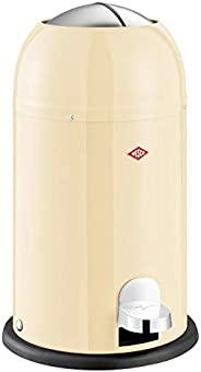 Wesco Kickmaster Waste Can, 4-Gallon, 15-Liter, Junior Almond