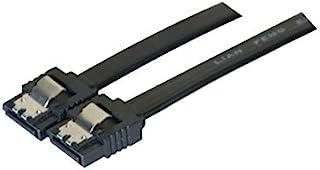 Exc 314032 SATA 到 SATA 数据线,带金属锁 - 黑色
