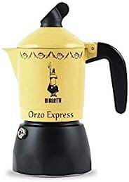 Bialetti Moka Orzo Express 意式咖啡煮壶 法压壶,铝制,8cm