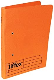 Rexel 43246EAST Eastlight Jiffex 平板文件夹 (A4) 50 件 橙色