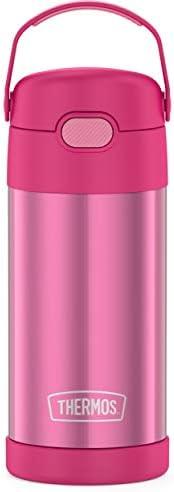 Thermos 膳魔师 Funtainer 水杯,粉色,12盎司(约354.84 毫升)
