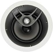 POLK AUDIO SC60 嵌入式扬声器家庭音频分音器,白色 (AW0460-A)