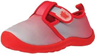 AQUAKIX T 型绑带男孩和女孩涉水鞋适用于海滩、海洋和水上运动,钩环贴合款式适合幼儿、小孩和大童