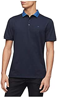 Calvin Klein Men's Liquid Touch Polo Solid with UV-Protec